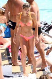 Ashley Hart in a Bikini on Bondi Beach, October 2015