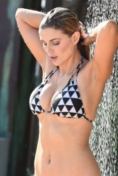 Ashley James in a Bikini in Ibiza, October 2015