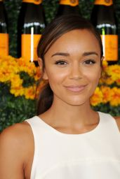 Ashley Madekwe – 2015 Veuve Clicquot Polo Classic in Pacific Palisades