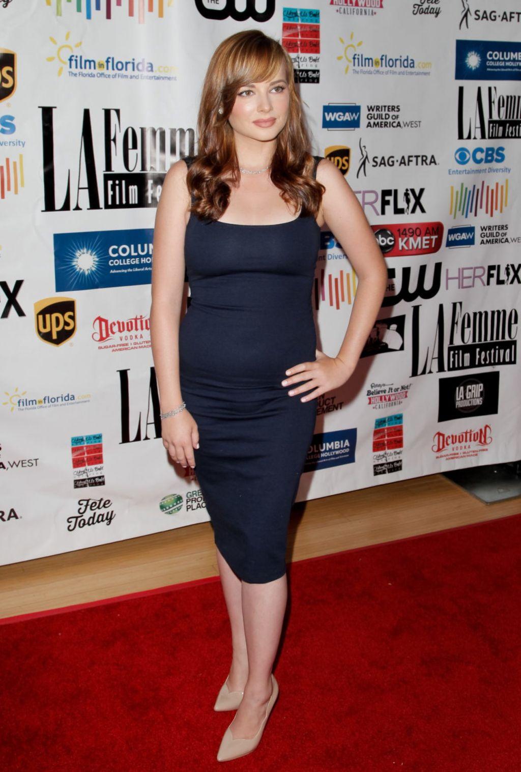Ashley Rickards - 2015 LA Femme International Film ...