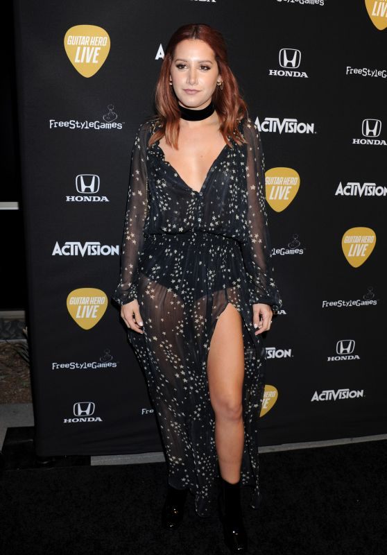 Ashley Tisdale - 2015 Guitar Hero Live Launch Party
