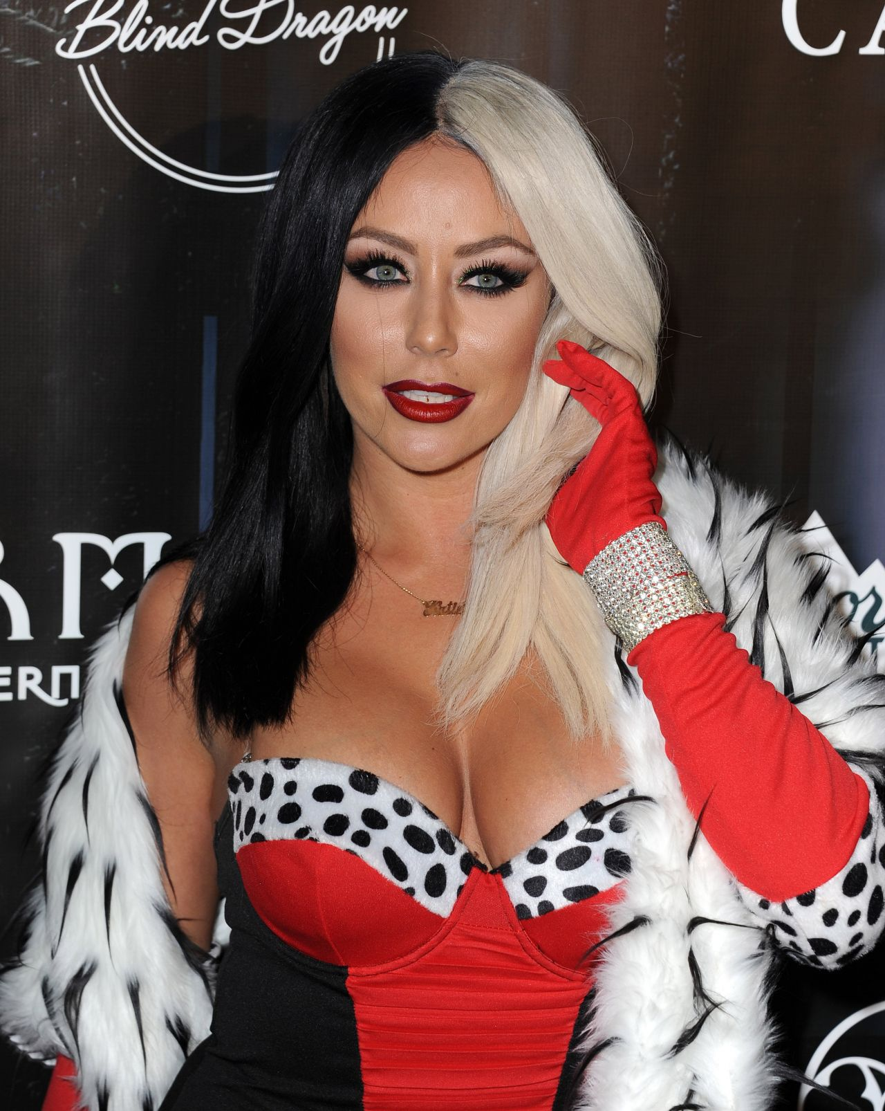 aubrey oday the official maxim halloween party in beverly hills october 2015