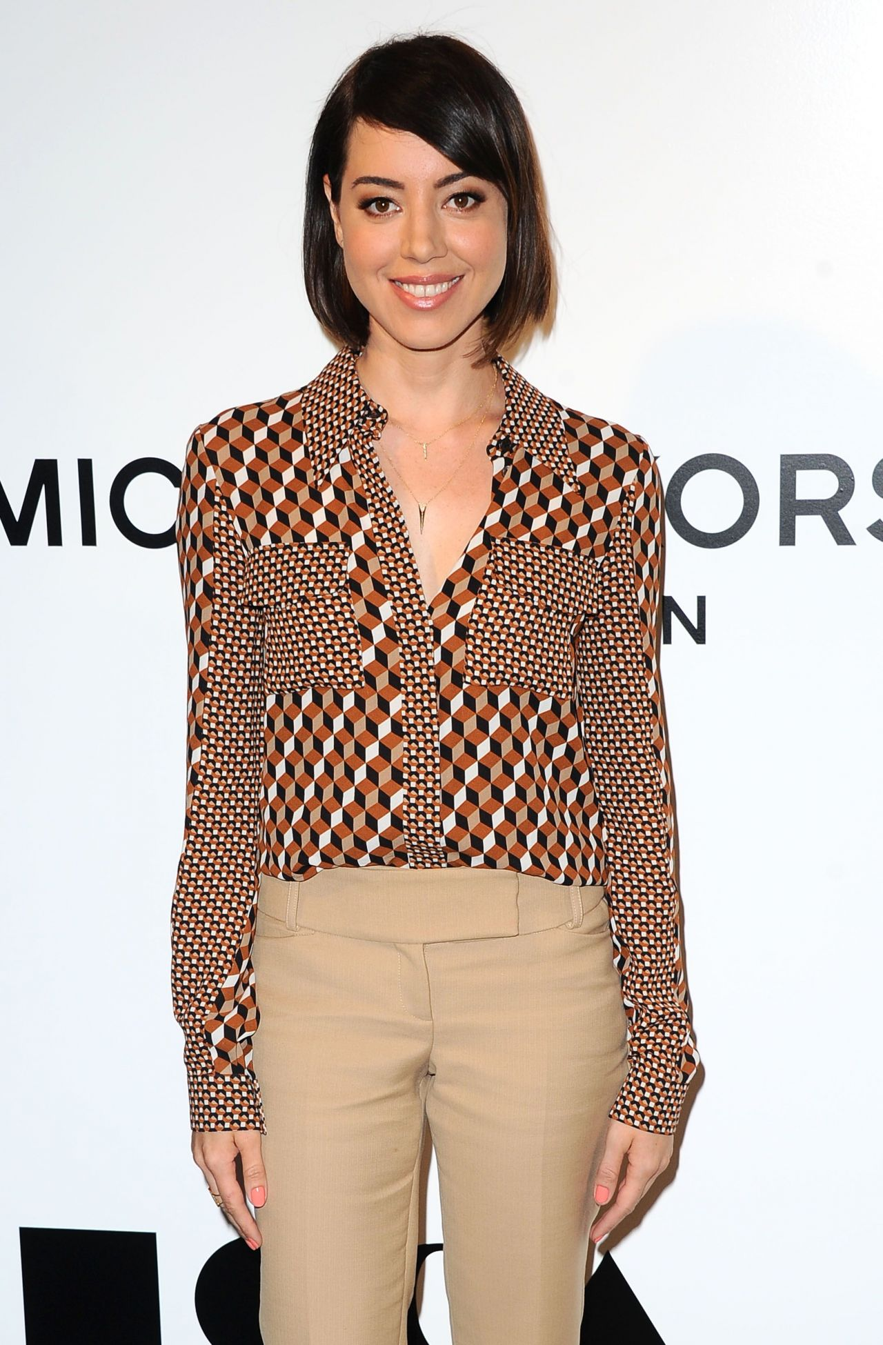 Aubrey Plaza Distinguished Women In The Arts Luncheon In Beverly Hills October 2015