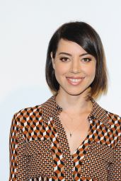 Aubrey Plaza - Distinguished Women In The Arts Luncheon in Beverly Hills, October 2015