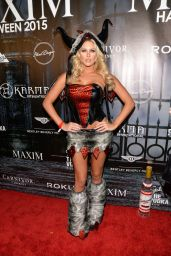 Barbie Blank (Kelly Kelly) - The Official MAXIM Halloween Party in Beverly Hills
