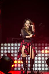 Becky G Performing at the Hard Rock Hotel & Casino in Las Vegas, October 2015