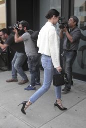 Bella Hadid in Levi