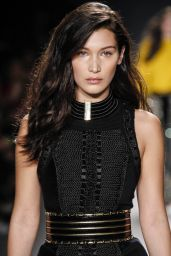 Bella Hadid - Runway at Balmain x H&M Collection Launch Event in New York