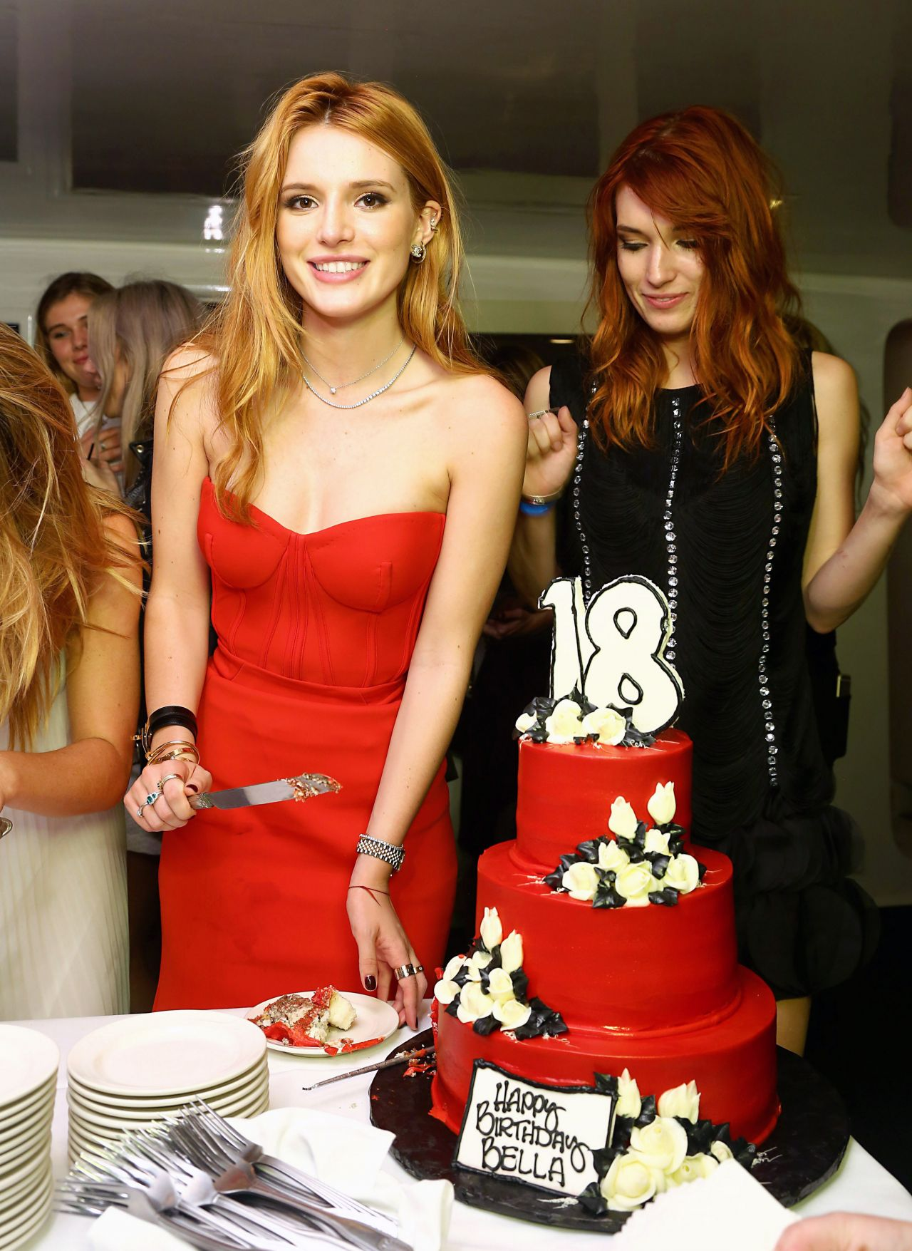 Bella Thorne At Her 18th Birthday Party On A Yacht In