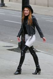Bella Thorne Hot in Jeans - Vancouver, October 2015