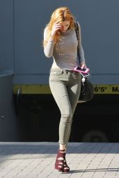 Bella Thorne in Tight Jeans  - Out in Vancouver, September 2015