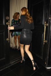 Bella Thorne - Leaving Beso Restaurant in Hollywood, October 2015
