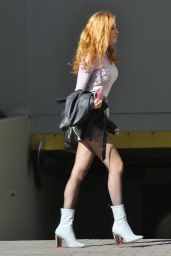 Bella Thorne Street Fashion - Out in Vancouver, October 2015