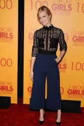 Beth Behrs – 2 Broke Girls 100th Episode Celebration in Los Angeles