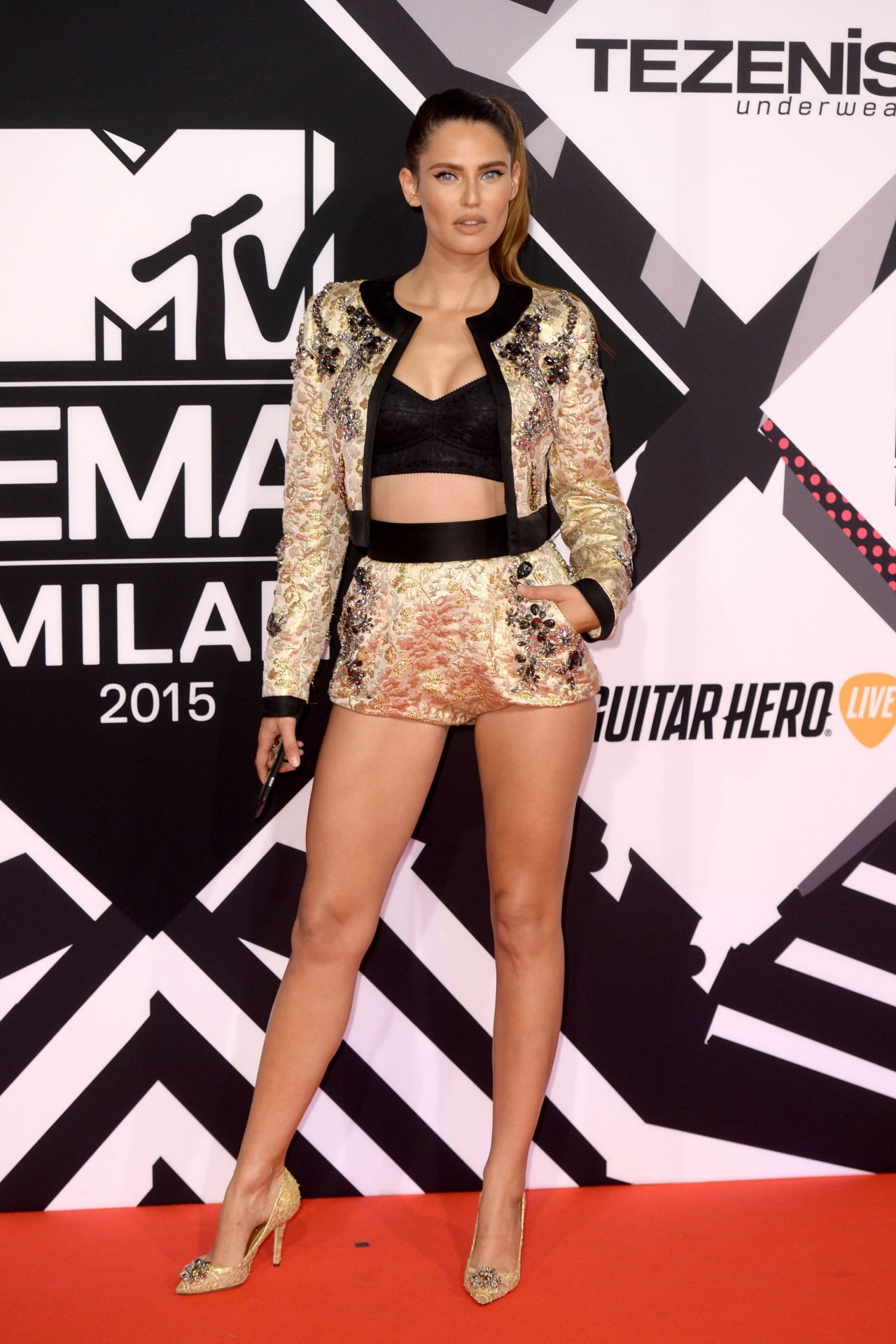 Bianca Balti 2015 Mtv European Music Awards In Milan Italy