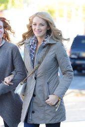 Blake Lively Autumn Style - Out in New York City, October 2015