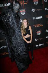 Brec Bassinger – Los Angeles Haunted Hayride Black Carpet Premiere Night