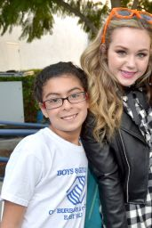 Brec Bassinger - Nickelodeon Animation Studio Halloween Event in Burbank, October 2015