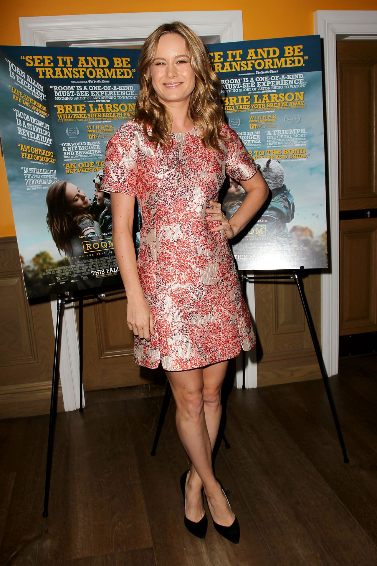 Brie Larson A24 S Room Screening In New York City