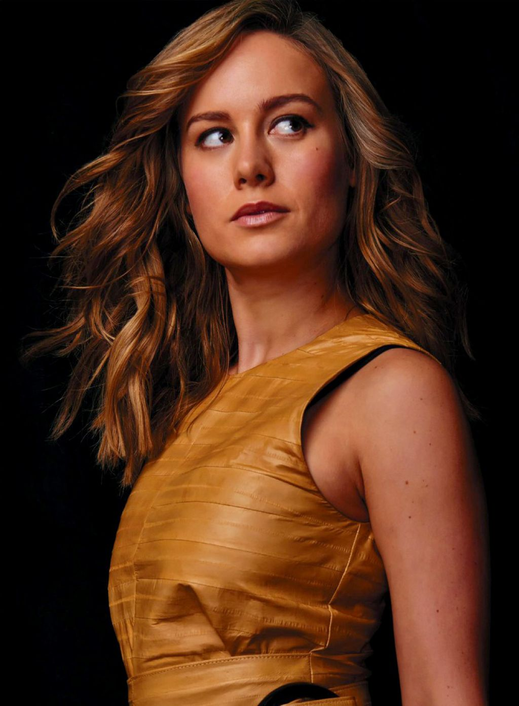 Brie Larson Photoshoot For Backstage October 2015