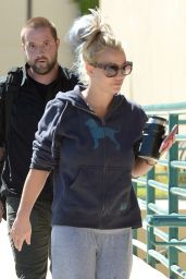 Britney Spears - Leaving a Recording Studio in Westlake Village, October 2015