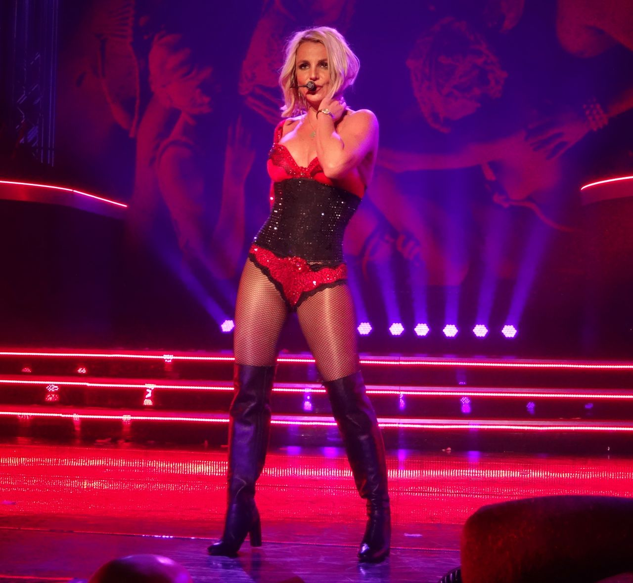 Where Is Britney Spears Performing In Vegas