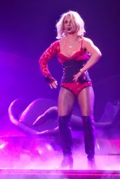 Britney Spears - Performing in Las Vegas, October 2015