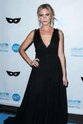 Brittany Snow – 2015 UNICEF Black & White Masquerade Ball in Los Angeles