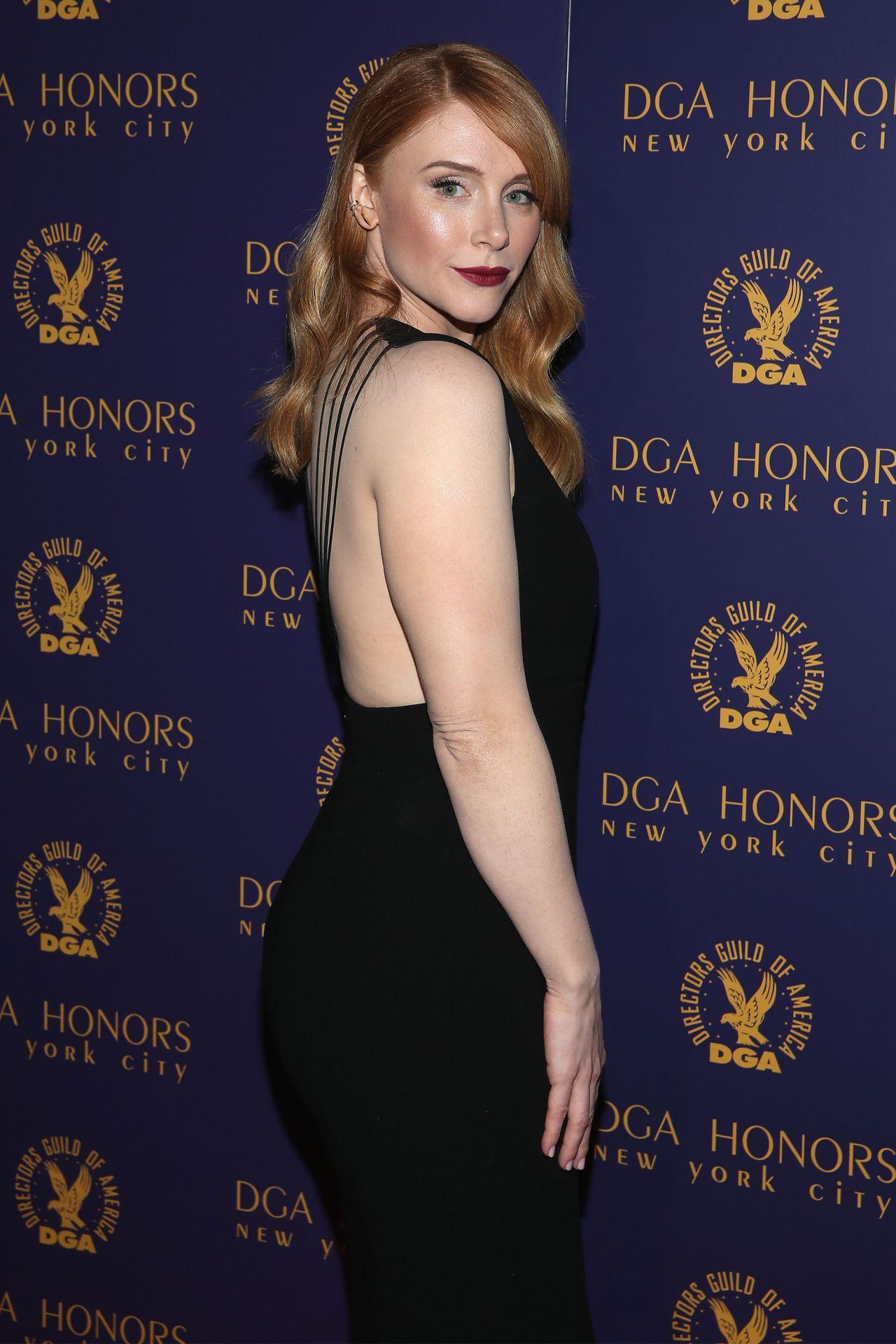 Bryce Dallas Howard Dga Honors 2015 Gala In New York City