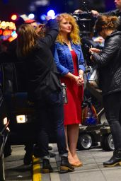 Bryce Dallas Howard - On the Set of Gold in NYC
