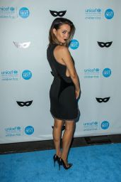 Camilla Luddington – 2015 UNICEF Black & White Masquerade Ball in Los Angeles
