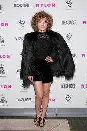 Camren Bicondova - NYLON It Girl Prom at Gilded Lily in New York City