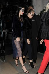 Cara Delevingne and Kendall Jenner - Leaving Eva Cavalli