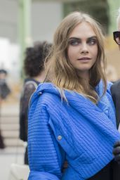 Cara Delevingne - Chanel Show - Paris Fashion Week Womenswear S/S 2016