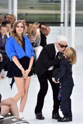 Cara Delevingne - Chanel Show - Paris Fashion Week Womenswear S/S 2016