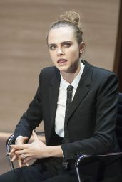 Cara Delevingne - Women in The World Summit in London, October 2015