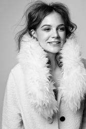 Carey Mulligan - Photoshoot for ELLE Magazine UK November 2015