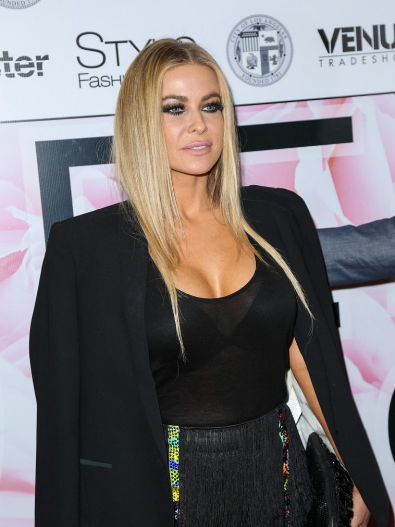 Carmen Electra Marco Marco S Spring Summer Collection Show In Los Angeles on Red Carpet Show