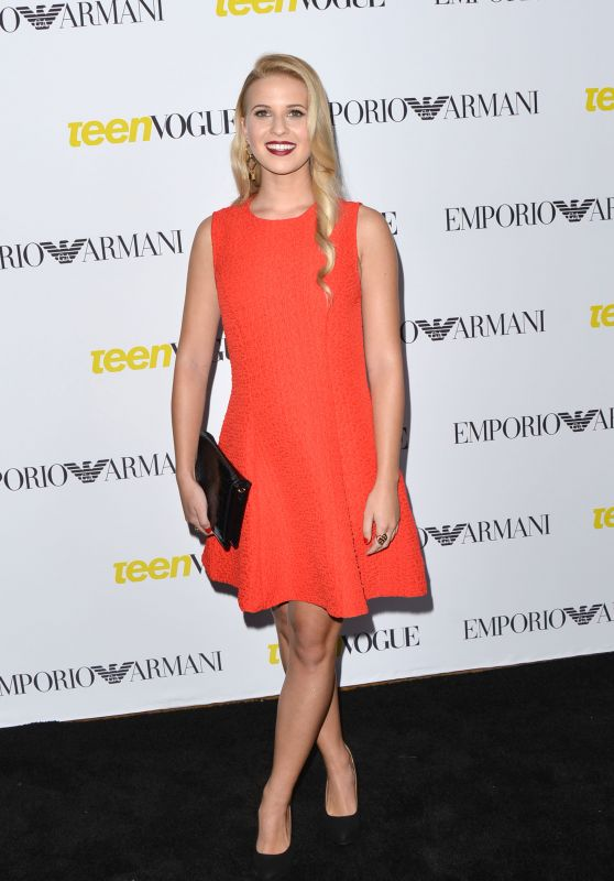 Caroline Sunshine – 2015 Teen Vogue Young Hollywood Issue Launch Party in Los Angeles