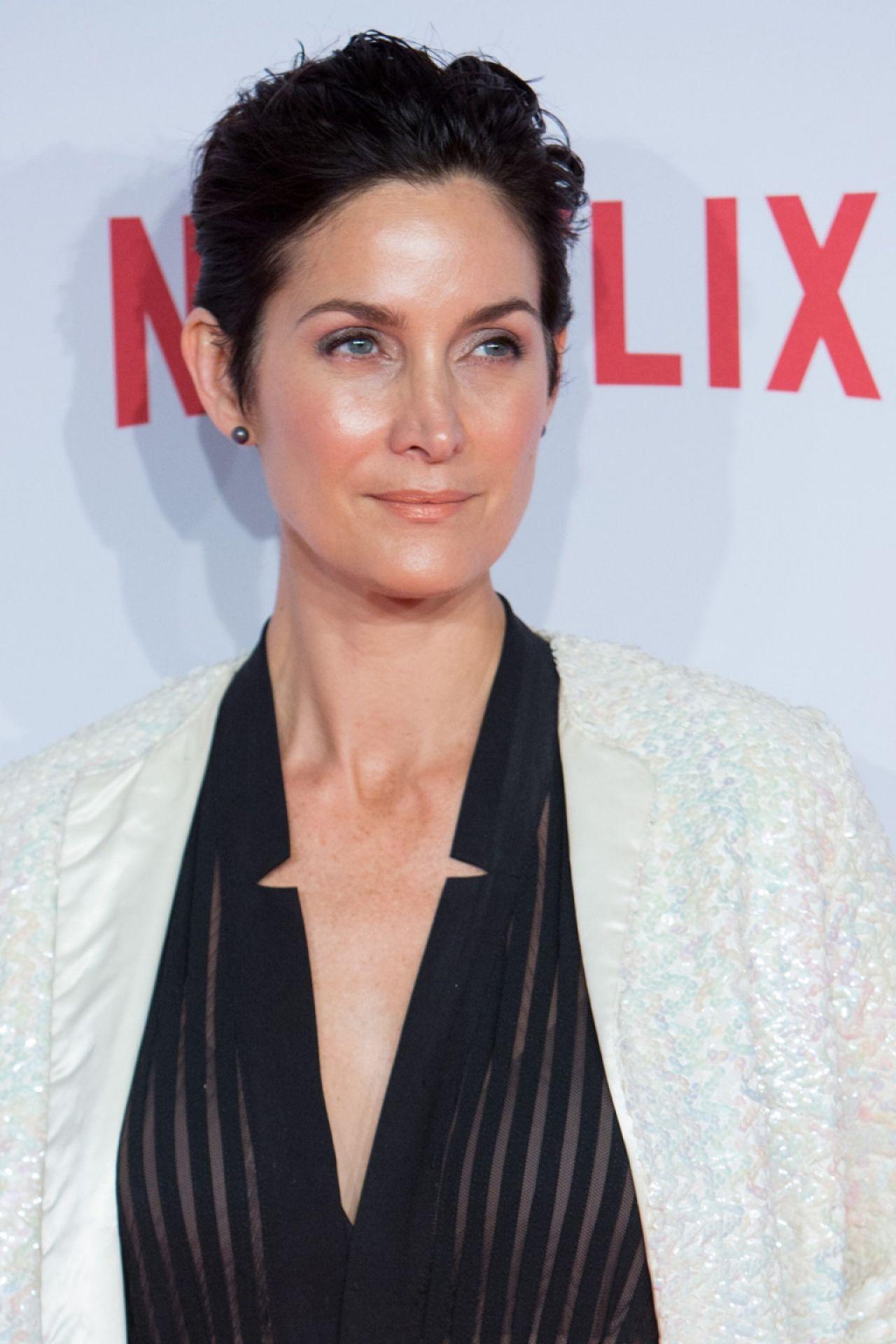 Carrie-Anne Moss - Netflix Spains Presentation Red Carpet