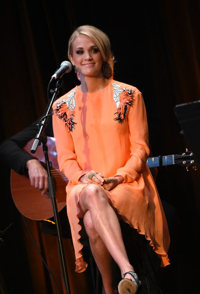Carrie Underwood Country Music Hall Of Fame Museum All For The