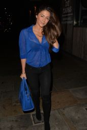 Casey Batchelor - Night Out at Tapas Revolution in London, October 2015