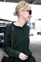 Cate Blanchett - Arrives at the Los Angeles International Airport, October 2015