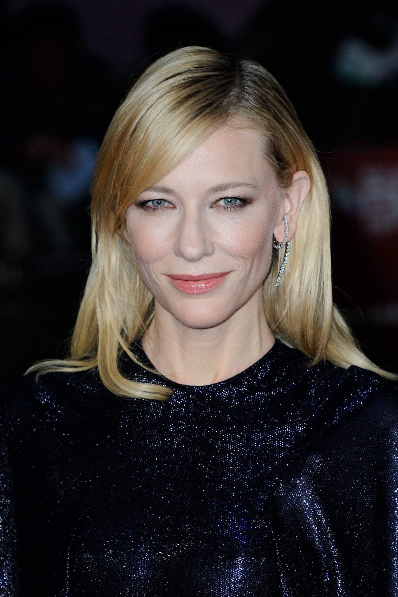 Cate Blanchett On Red Carpet Carol Premiere Bfi