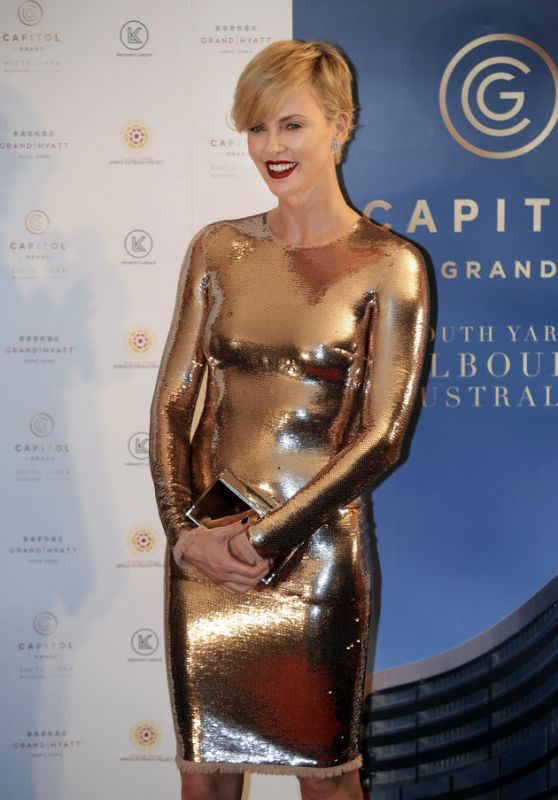 Charlize Theron - Capitol Grand Launch Party in Hong Kong, October 2015