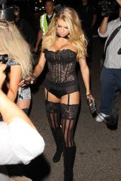 Charlotte McKinney - Casa Tequila Halloween Party in Beverly Hills, October 2015