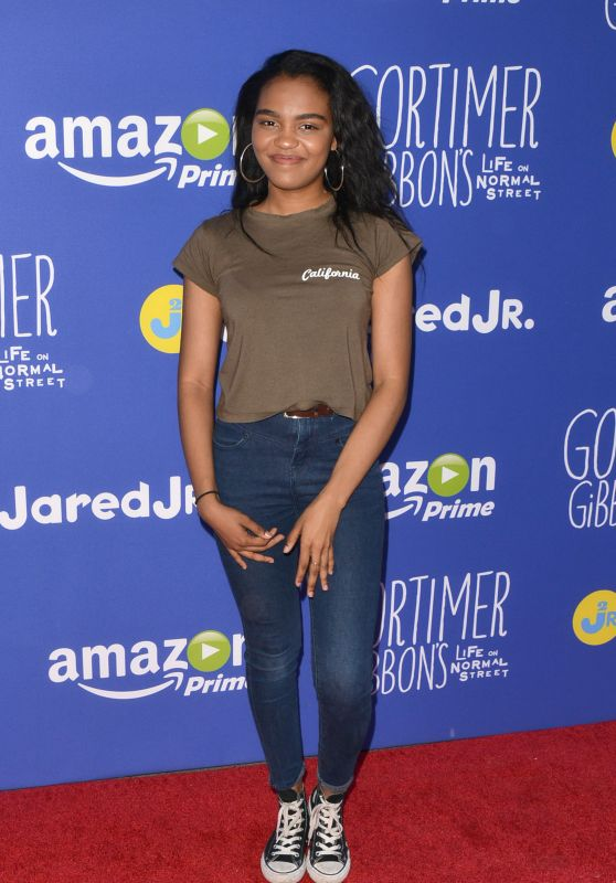 China Anne McClain - Just Jared Fall Fun Day in Los Angeles, October 2015