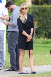 Chloe Moretz in a Bikini On the Set of Neighbors 2 in LA, October 2015