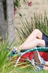 Chloe Moretz in a Bikini On the Set of Neighbors 2 in LA, October 2015