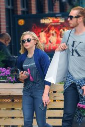 Chloe Moretz in Tight Jeans - Out in NYC, October 2015